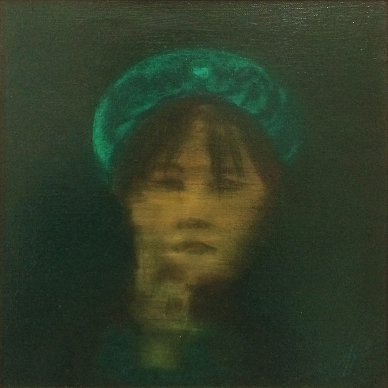 Emerald II - Head-Dress, Anna van Oel
