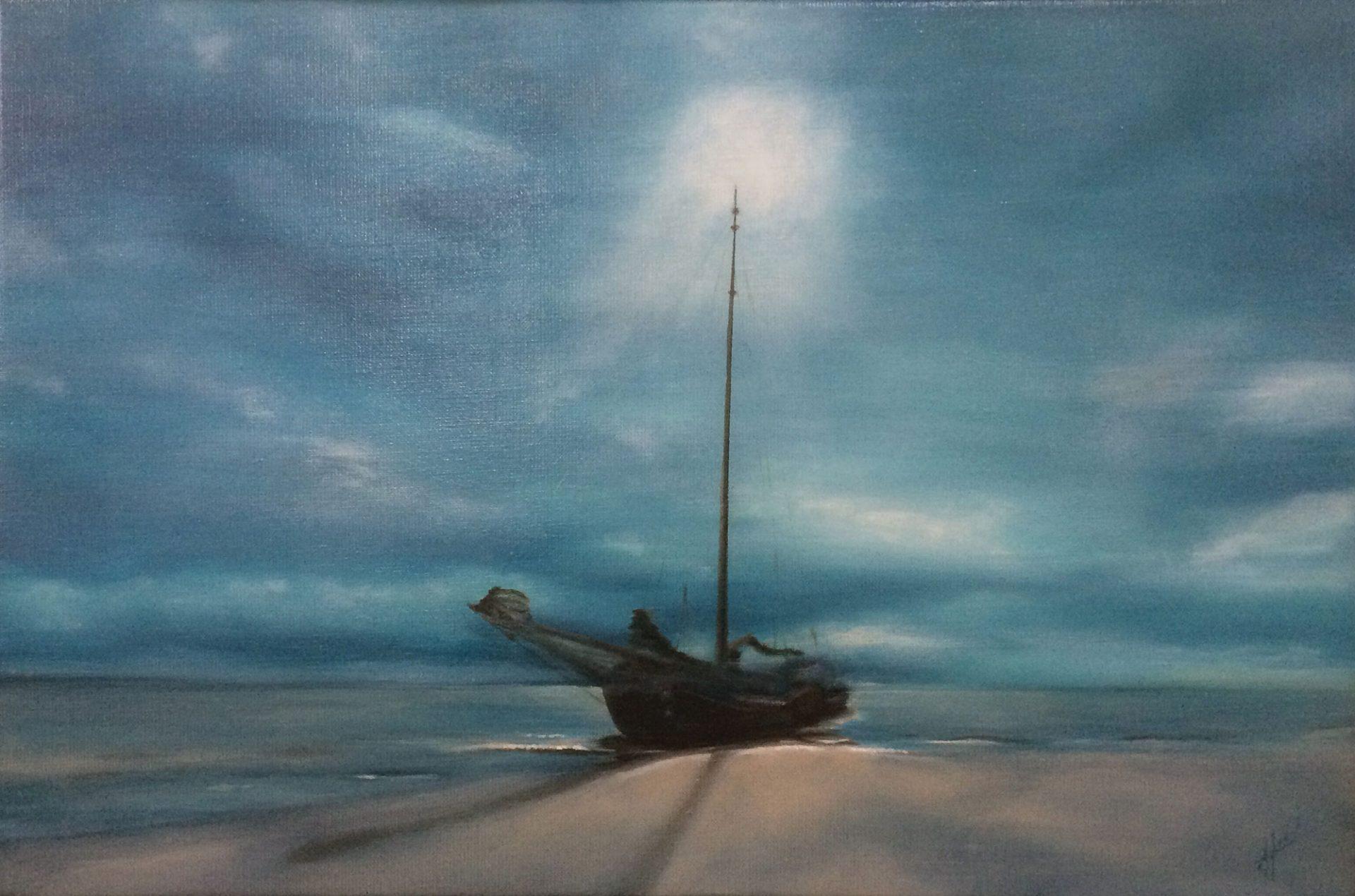 Low tide - Unesco Heritage, Anna van Oel